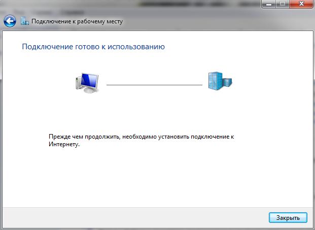 PPTP + G-Net + MS Windows 7: Безуспешная попытка осуществить подключение.