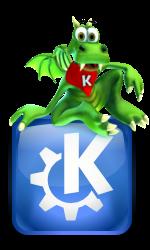 """""""Konqi"""" KDE-3."""