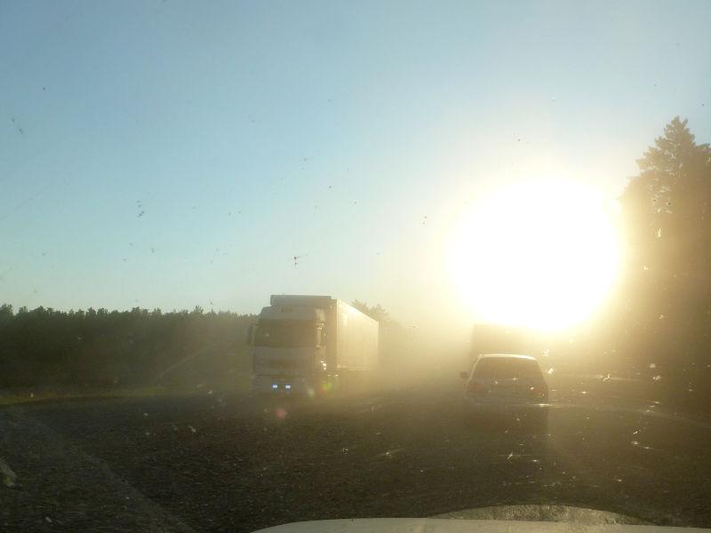 20180627. Где-то на трассе M-53 (AH6), в пути от Иркутска к Красноярску.
