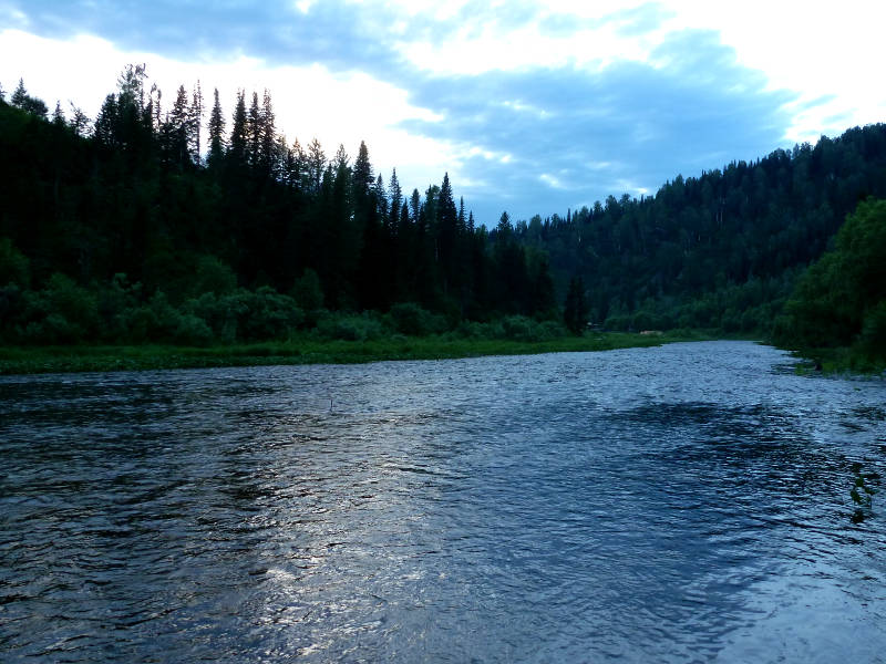 20180629. Река Ортон, за пару километров до одноимённого посёлка.