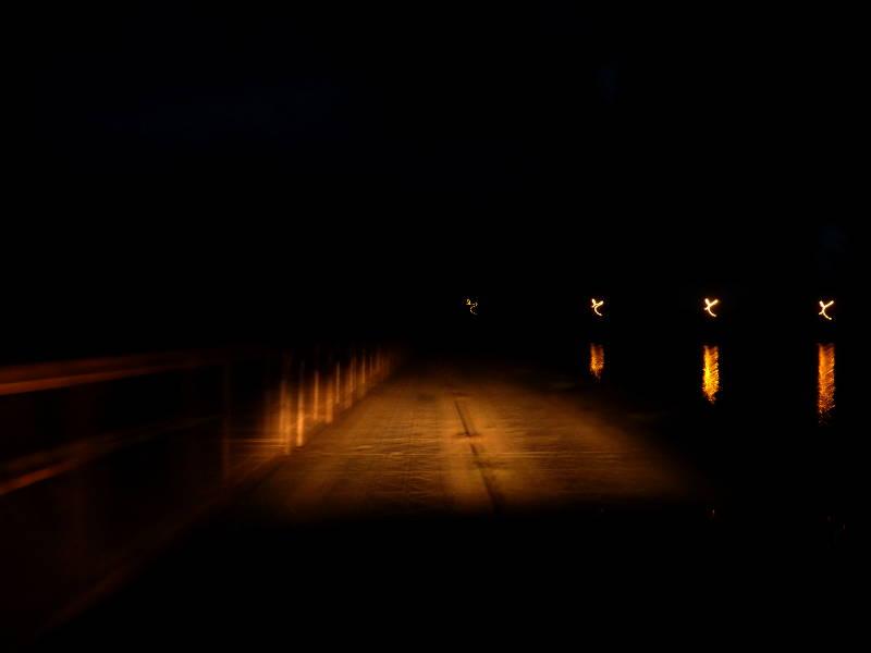 20180629. На понтонном мосту через реку Томь, под посёлком Майзас.
