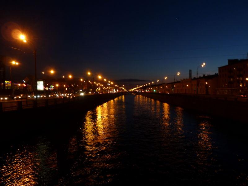 20150503. Санкт-Петербург. Обводный канал в полночь.
