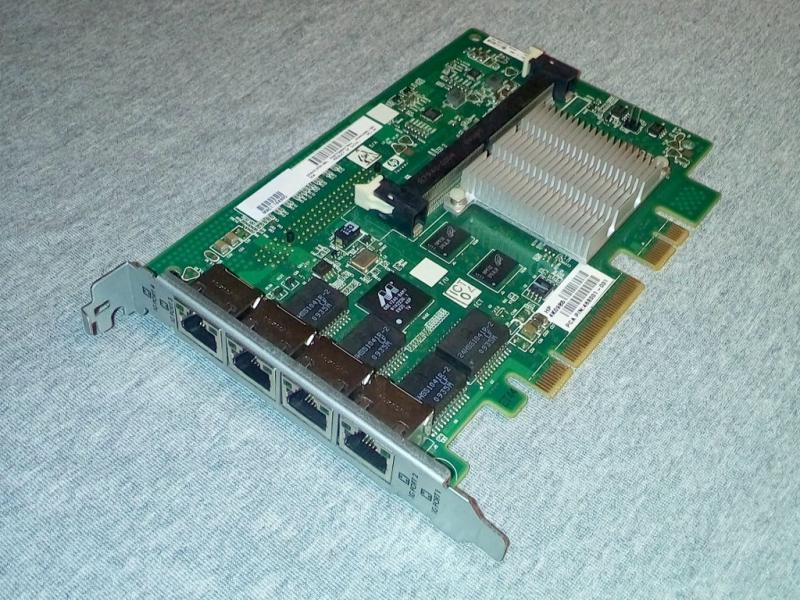 HP NC375I Quad Port Gigabit Server Adapter (Full Profile): общий вид.