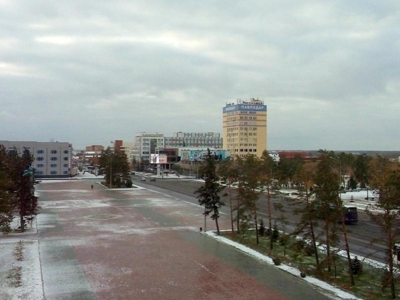 20151015. А из нашего окна площадь Ленина видна.