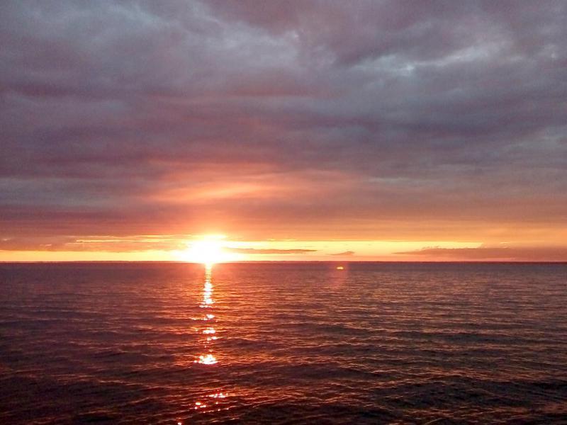 "20170713. Закат на ""обском море"", вид с правого берега водохранилища, в районе Бердска."