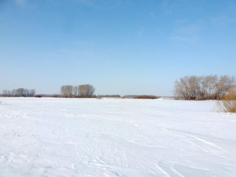20170129. На снежном поле Некрасовского острова.