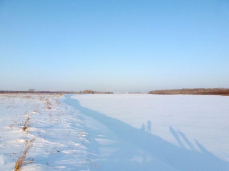 20170129. На левом берегу реки Иртыш.