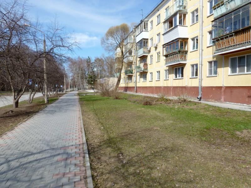 20170422. На улице Золотодолинская, в зоне аллеи ранеточных деревьев.