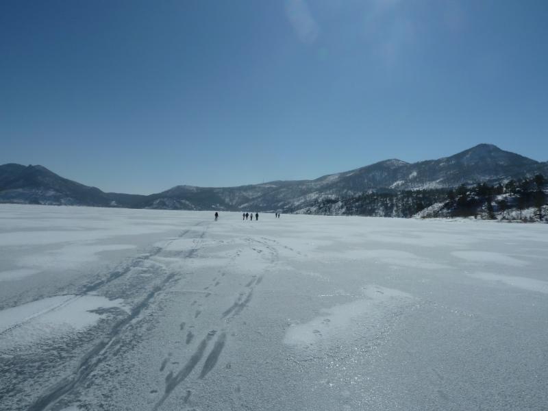 20110321. Озеро Джасыбай в марте.