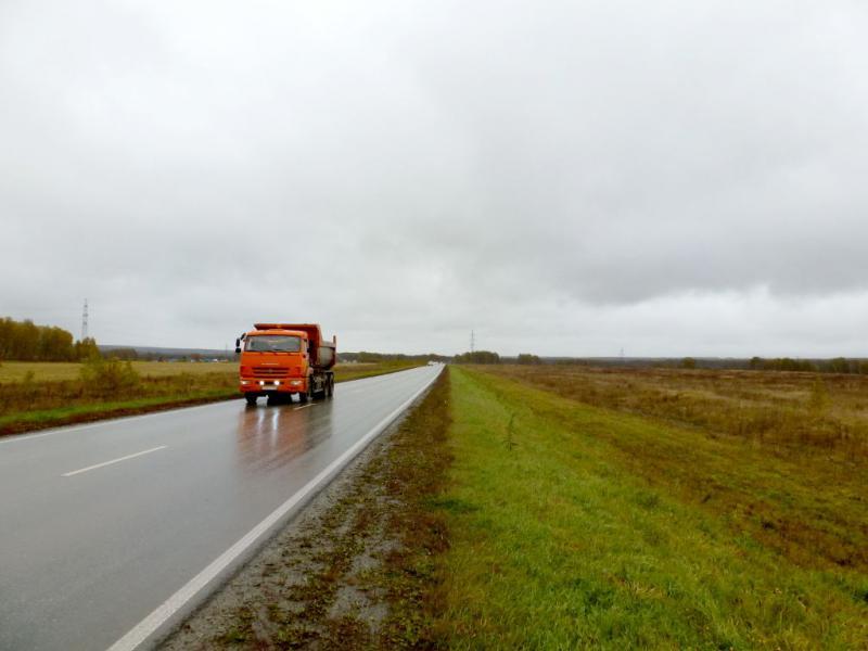 20170923. На обочине шоссе 50H-2107, северо-восточнее Кольцово.