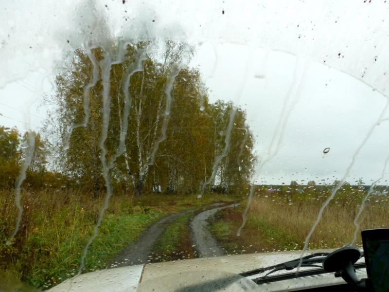 20170923. Первая грязь, неожиданно рано - в дороге всего пару часов.