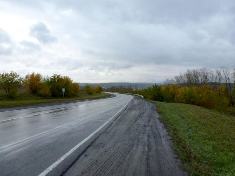 """20170923. На трассе 32K-2 """"Ленинск-Кузнецкий - Новокузнецк""""."""