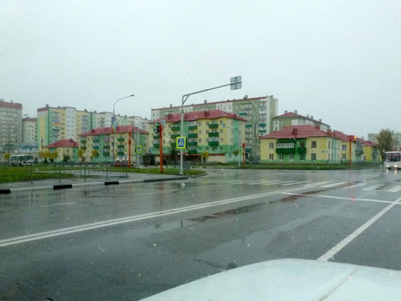 20170924. Многоэтажная часть Междуреченска.