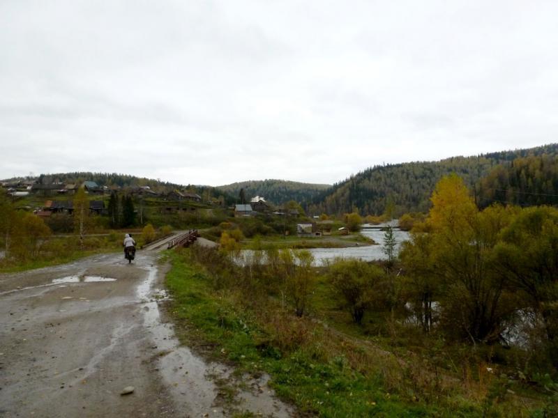 20170924. Перед посёлком Ортон, у места впадения речки Колос в Ортон.