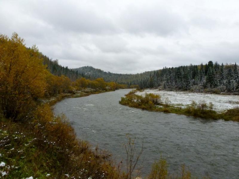 20170925. Вид на реку Ортон неподалеку от одноимённого села.