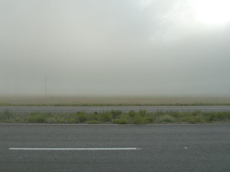 20110618. Туманный АЗФ. Вид на производственную площадку АЗФ, с железнодорожными путями, цехами, вышками и трубами.