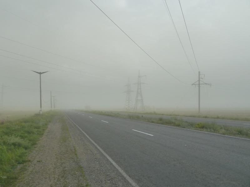 20110618. Туманный АЗФ. Вид на Аксу.