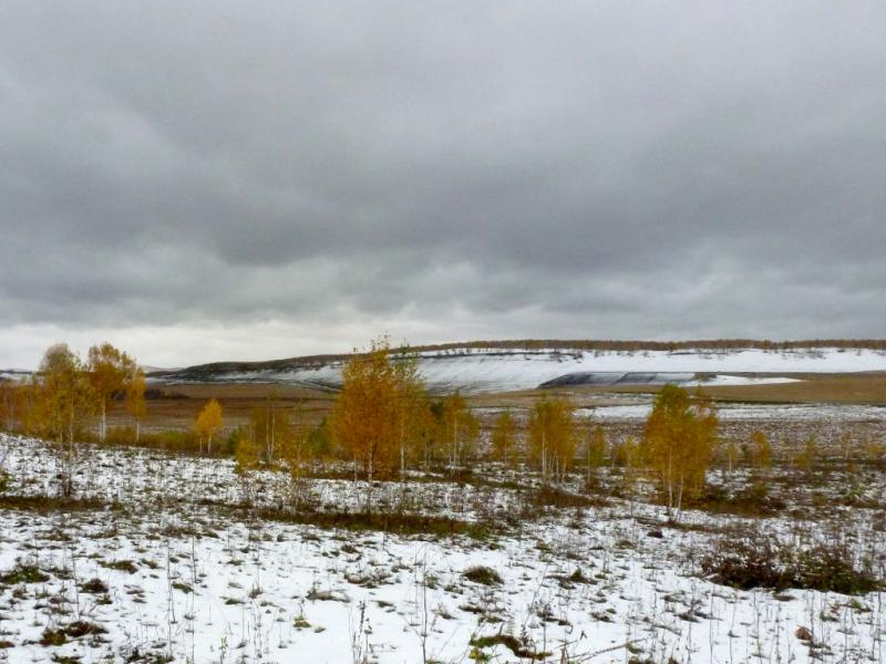 20170926. В болотистой низине озёр Вязкое и Солёное.