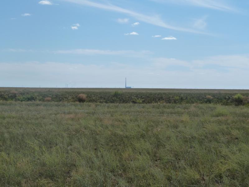 20110806. Павлодар-Астана. ГРЭС-2 всё дальше и дальше.