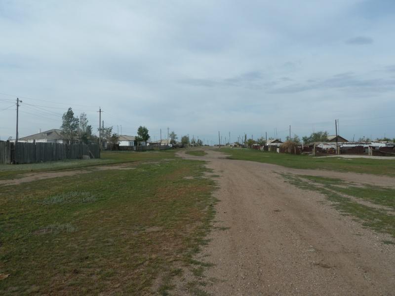 20110807. Павлодар-Астана. Село Тортуй.