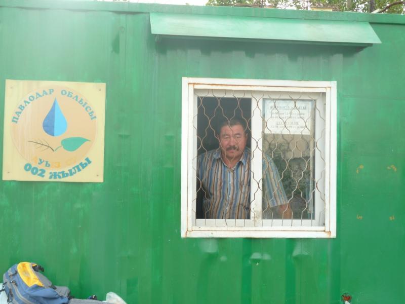 20110807. Павлодар-Астана. Хозяин воды села Тортуй.