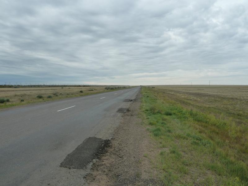 20110807. Павлодар-Астана. Трасса Павлодар-Астана.