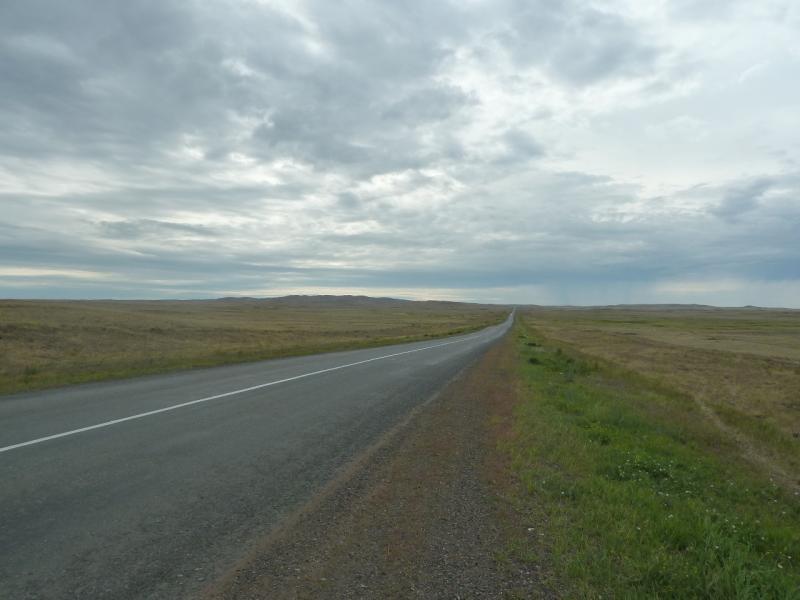 20110807. Павлодар-Астана. Дорога к Ерментау.