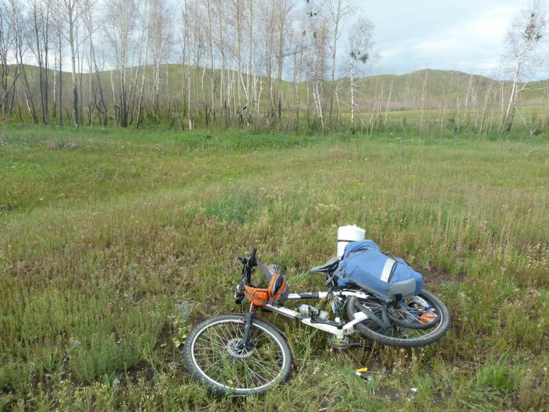 20110808. Павлодар-Астана. Первый пробой в путешествии.