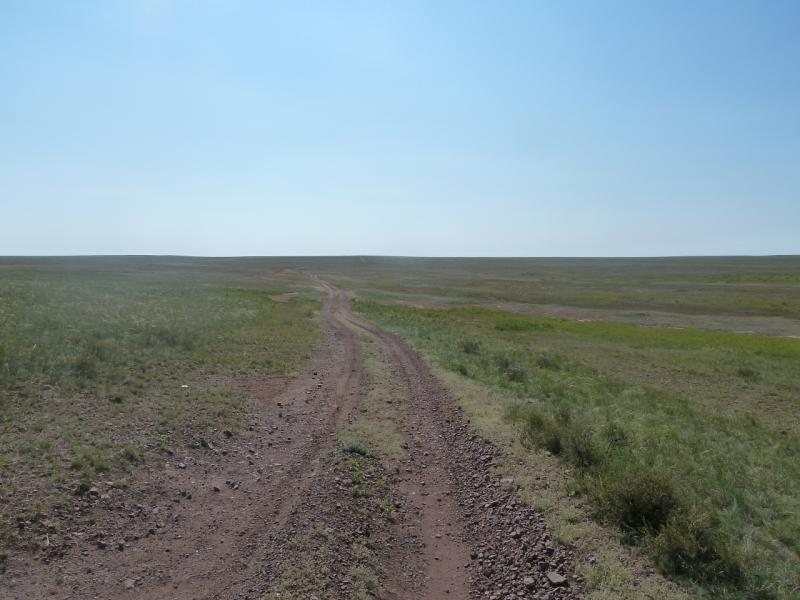 20110811. Павлодар-Астана. Степями.