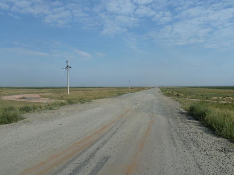 20110816. Астана-Боровое. Грейдерка на Тастак.