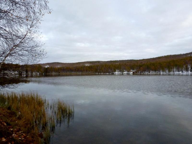 20170927. Вид с западного берега на озеро Большое Дикое.