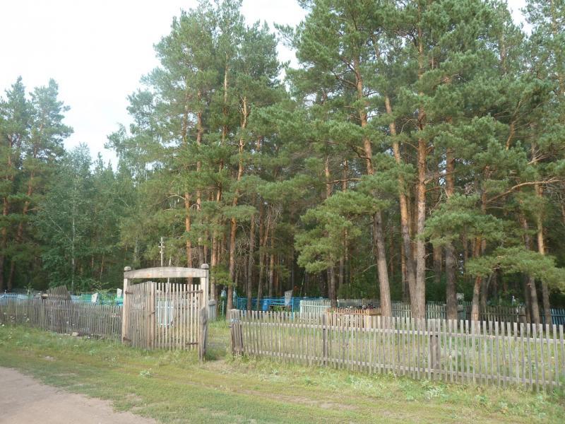20110817. Астана-Боровое. Русское кладбище села Красный Кордон.