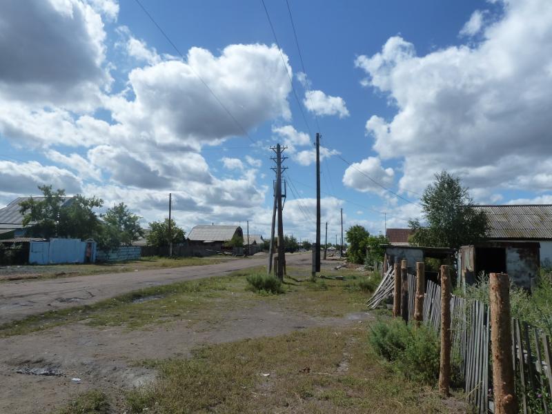 20110818. Астана-Боровое. Виды посёлка Макинск.