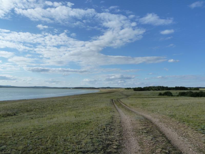 20110818. Астана-Боровое. Северо-восточная сторона озера Жукей.