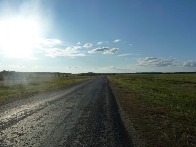 20110818. Астана-Боровое. Асфальтовая дорога Степняк-Щучинск.