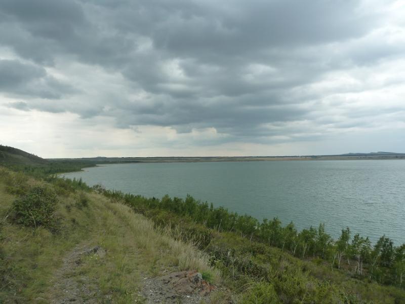 20110820. Боровое. Дорогами восточного берега озера Малое Чебачье.