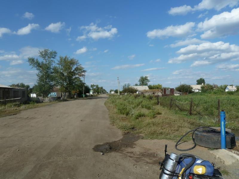 20110822. Боровое-Павлодар. Село Черняховское.