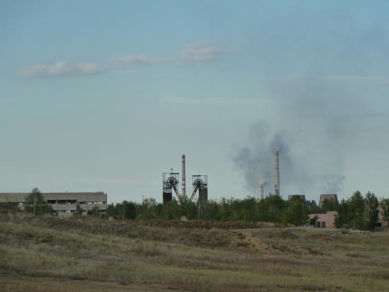 20110822. Боровое-Павлодар. Виды Аксу, что рядом со Степногорском.