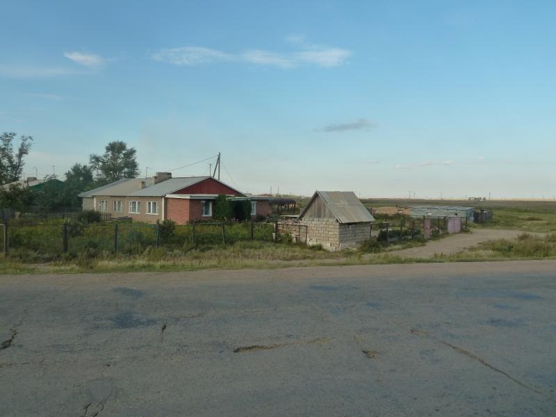 20110822. Боровое-Павлодар. Виды посёлка Рабочий, что рядом со Степногорском.