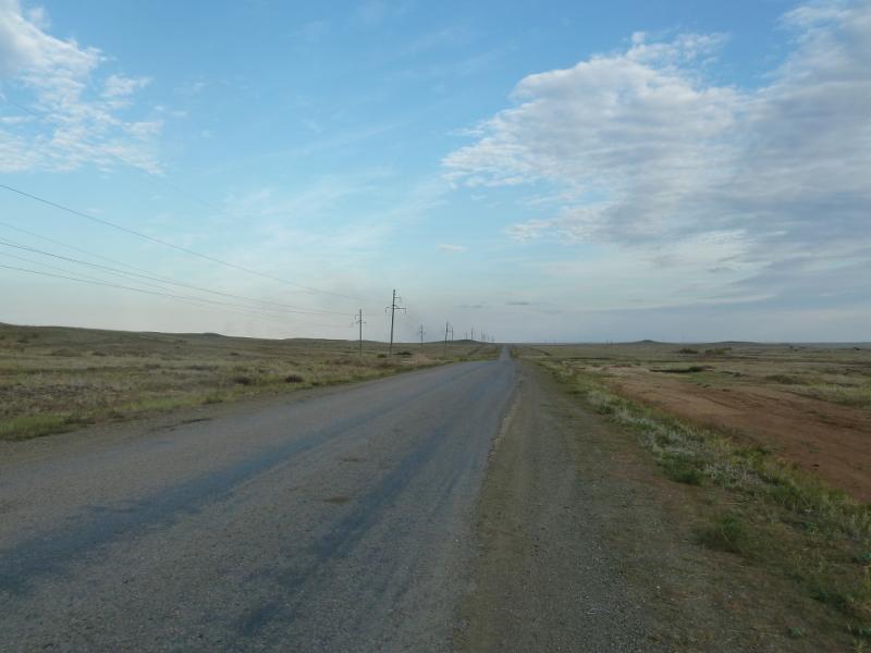 20110822. Боровое-Павлодар. Дорога на Бестобе.