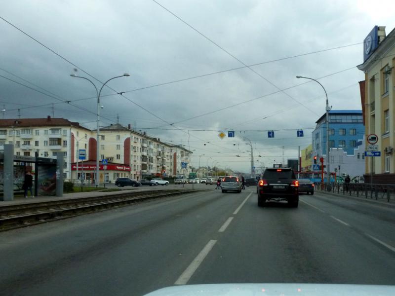 20170930. На Кузнецком проспекте в Кемерово.