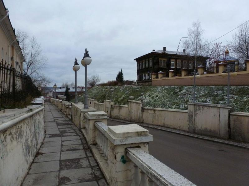20171105. В Томске, на улице Кузнечный Взвоз.