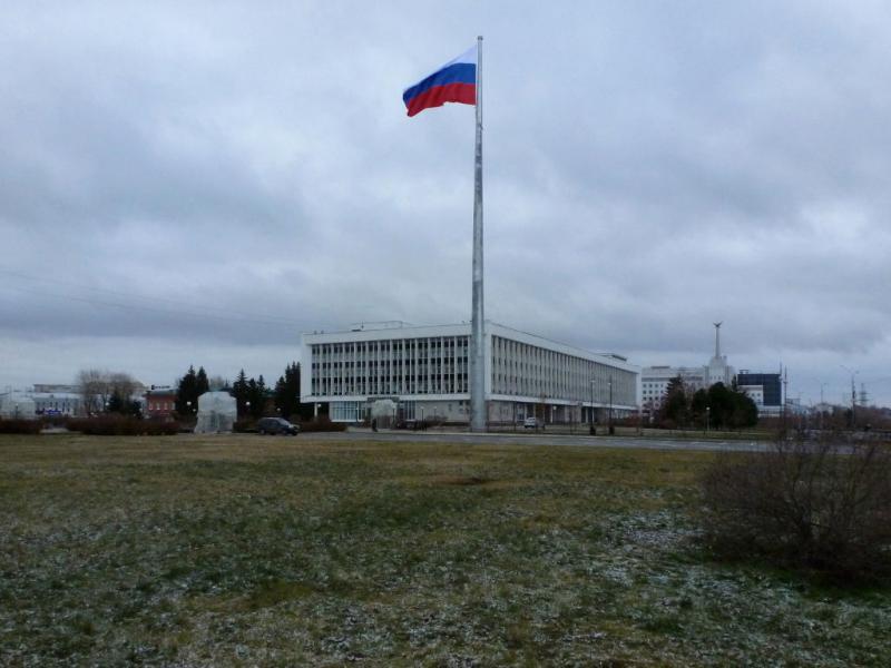20171105. В Томске, между набережной и площадью Ленина.