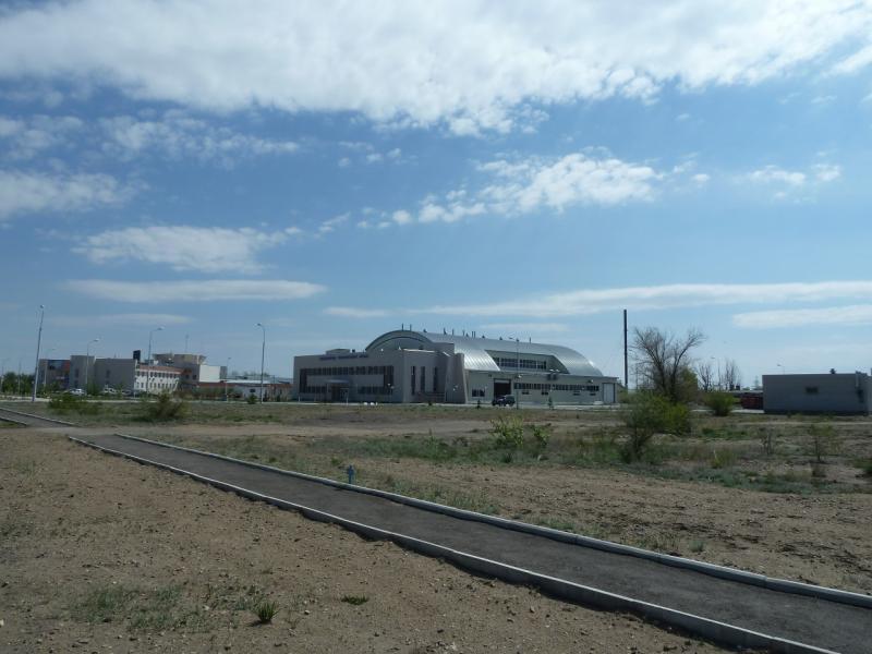 """20120511. Курчатов: строения """"атомного центра""""."""