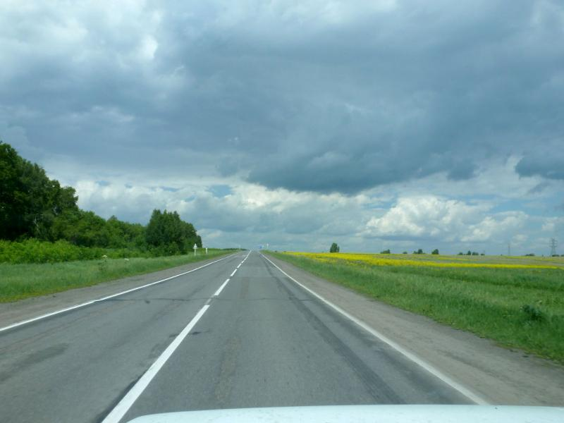 20180620. Где-то в пути на Кемерово, на шоссе от станции Промышленная.