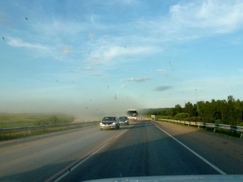 20180620. Где-то на трассе M-53 (AH6), уже недалеко от Красноярска.
