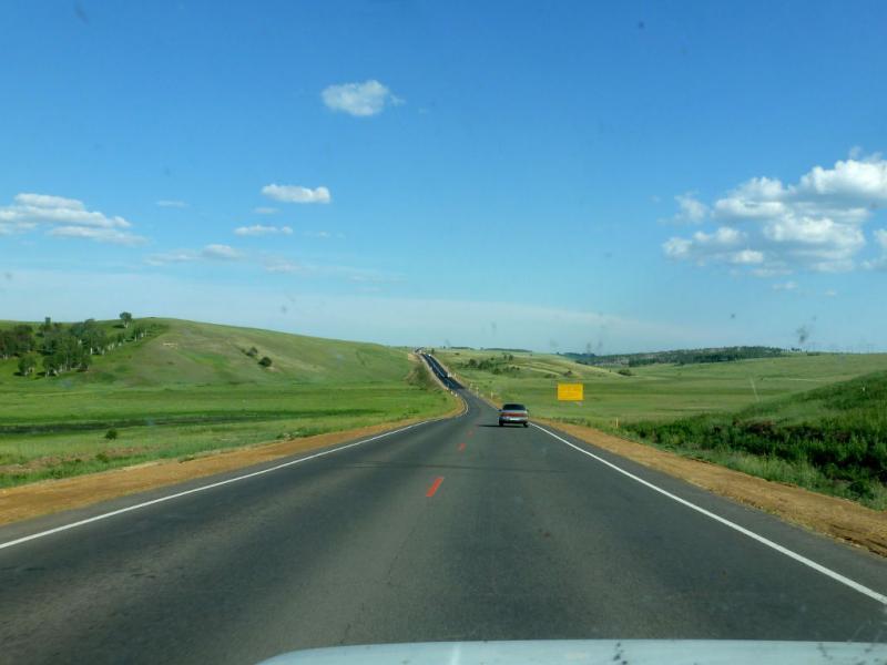 20180621. За триста километров до Иркутска, на трассе M-53 (AH6).