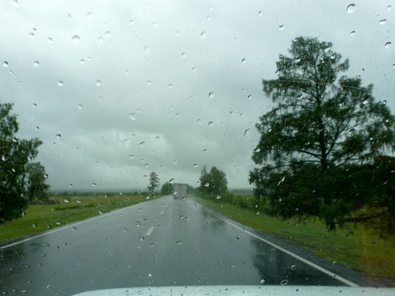 20180622. На всю оставшуюся часть дня зарядил дождь.