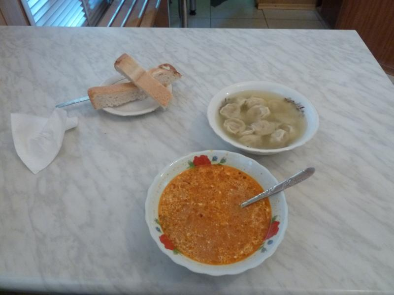 20120516. Краем Щербактинского района: скорее ужин, нежели обед.