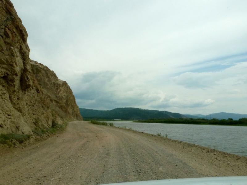 20180624. Прижим в месте слияния рек Селенга и Итанца.